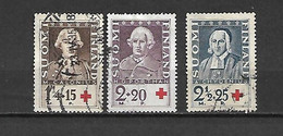 FINLANDIA - 1935 - N. 180/82 USATI (CATALOGO UNIFICATO) - Gebraucht