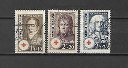 FINLANDIA - 1936 - N. 186/88 USATI (CATALOGO UNIFICATO) - Gebraucht