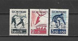 FINLANDIA - 1938 - N. 200/02 USATI (CATALOGO UNIFICATO) - Gebraucht
