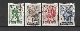 FINLANDIA - 1940 - N. 214/17 USATI (CATALOGO UNIFICATO) - Gebraucht