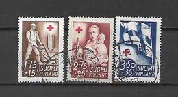 FINLANDIA - 1941 - N. 226/28 USATI (CATALOGO UNIFICATO) - Gebraucht