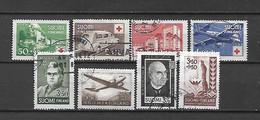 FINLANDIA - 1944 - ANNATA COMPLETA USATA - Gebraucht
