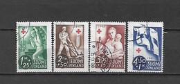 FINLANDIA - 1945 - N. 278/81 USATI (CATALOGO UNIFICATO) - Gebraucht