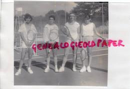 12- MILLAU- LE TENNIS   RARE PHOTO ORIGINALE 1990 POUR MAGAZINE DU ROUERGUE - AVEYRON - Sport