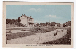 89 YONNE - MAILLY LA VILLE La Gare P.L.M. - Sonstige Gemeinden