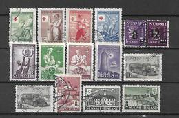 FINLANDIA - 1946 - ANNATA COMPLETA USATA - Gebraucht