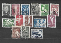 FINLANDIA - 1947 - ANNATA COMPLETA USATA - Gebraucht