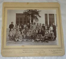ANCIENNE PHOTO DE CLASSE LA ROCHE SUR YON, ECOLE, INSTITUTION JEANNE D'ARC 1940-1941, VENDEE 85 - Photos
