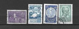 FINLANDIA - 1949 - N. 344 - N. 359 - N. 360 - N. 361 USATI (CATALOGO UNIFICATO) - Gebraucht