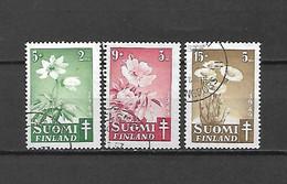 FINLANDIA - 1949 - N. 349/51 USATI (CATALOGO UNIFICATO) - Gebraucht