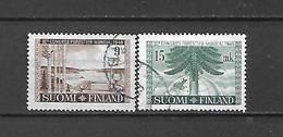 FINLANDIA - 1949 - N. 354/55 USATI (CATALOGO UNIFICATO) - Gebraucht