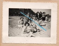 Dept 56 : ( Morbihan ) Quiberon, Photo, Plage, Habitation, Juin 1949, Animée. - Andere