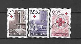 FINLANDIA - 1951 - N. 375/77 USATI (CATALOGO UNIFICATO) - Gebraucht