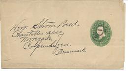 Wrapper Sent To Copenhagen Denmark 1896.  S-268 - Other