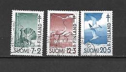 FINLANDIA - 1951 - N. 379/81 USATI (CATALOGO UNIFICATO) - Gebraucht