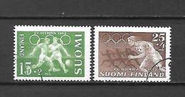 FINLANDIA - 1952 - N. 388/89 USATI (CATALOGO UNIFICATO) - Gebraucht