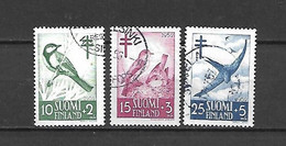 FINLANDIA - 1952 - N. 396/98 USATI (CATALOGO UNIFICATO) - Gebraucht