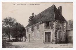 89 YONNE - BESSY SUR CURE La Mairie Et Les Ecoles - Sonstige Gemeinden