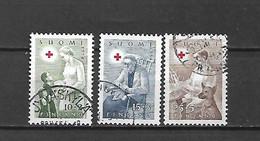 FINLANDIA - 1954 - N. 405/07 USATI (CATALOGO UNIFICATO) - Gebraucht