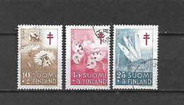 FINLANDIA - 1954 - N. 417/19 USATI (CATALOGO UNIFICATO) - Gebraucht
