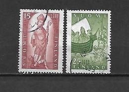 FINLANDIA - 1955 - N. 422/23 USATI (CATALOGO UNIFICATO) - Gebraucht