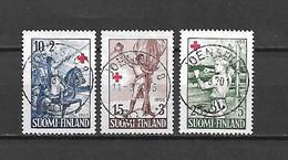 FINLANDIA - 1955 - N. 430/32 USATI (CATALOGO UNIFICATO) - Gebraucht