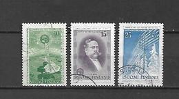 FINLANDIA - 1955 - N. 433/35 USATI (CATALOGO UNIFICATO) - Gebraucht