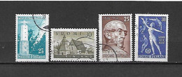 FINLANDIA - 1956 - N. 436 - N. 437 - N. 438 - N. 440 USATI (CATALOGO UNIFICATO) - Gebraucht