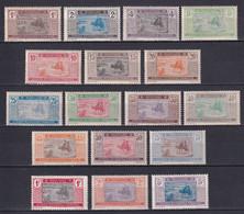 MAURITANIE - YVERT N° 17/33 * MLH - COTE 2022 = 33 EUROS - - Unused Stamps