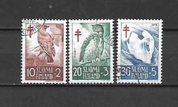FINLANDIA - 1956 - N. 441/43 USATI (CATALOGO UNIFICATO) - Gebraucht