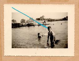Dept 22 : ( Côtes D'Armor ) Ile De Bréhat, Photo, Plage, Mer, Rocher, Animée, Aout 1956. - Andere