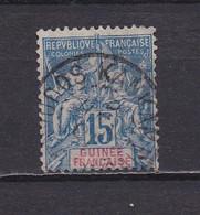 GUINEE FRANCAISE 1892 TIMBRE N°6 OBLITERE - Gebruikt