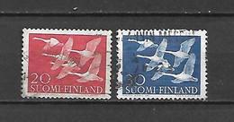 FINLANDIA - 1956 - N. 445/46 USATI (CATALOGO UNIFICATO) - Gebraucht