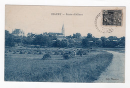 89 YONNE - EGLENY Route D'Aillant - Sonstige Gemeinden