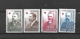 FINLANDIA - 1956 - N. 448/51 USATI (CATALOGO UNIFICATO) - Gebraucht