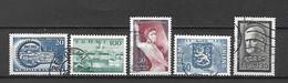 FINLANDIA - 1957 - N. 461 - N. 462 - N. 466 - N. 467 - N. 468 USATI (CATALOGO UNIFICATO) - Gebraucht