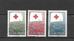 FINLANDIA - 1957 - N. 463/65 USATI (CATALOGO UNIFICATO) - Gebraucht