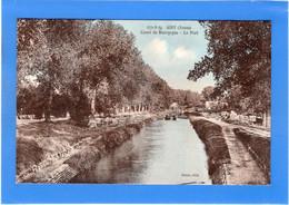 89 YONNE - AISY Canal De Bourgogne, Le Port (voir Description) - Sonstige Gemeinden