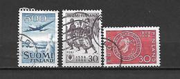 FINLANDIA - 1958 - PA N. 4 - N. 471 - N. 476 USATI (CATALOGO UNIFICATO) - Gebraucht
