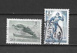 FINLANDIA - 1958 - N. 469/70 USATI (CATALOGO UNIFICATO) - Gebraucht