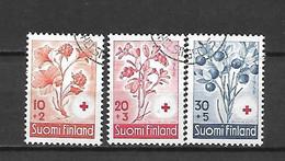 FINLANDIA - 1958 - N. 477/79 USATI (CATALOGO UNIFICATO) - Gebraucht