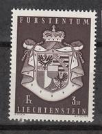 Liechtenstein 455 ** MNH – Armoirie(1969) - Ungebraucht