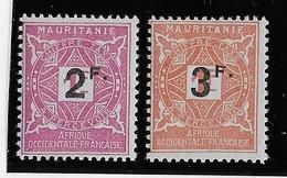Mauritanie Taxe N°25/26 - Neuf ** Sans Charnière - TB - Unused Stamps