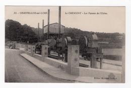 89 YONNE - CHASTELLUX SUR CURE Le Crescent, Les Vannes De L'Usine - Sonstige Gemeinden