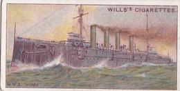 Celebrated Ships 1911 - Wills Cigarette Card - Celebrated Ships - 18 HMS Niobe, Canada - Wills