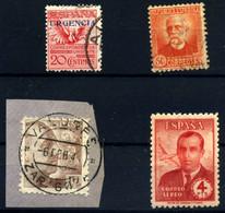 España Nº 429, 661, 934, 991 Año 1930/45 - 1931-50 Usati