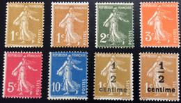N° 277A   A   279B       NEUF ** SANS CHARNIÈRE   ( LOT:12067) - 1906-38 Sower - Cameo
