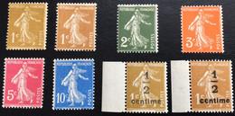 N° 277A   A   279B       NEUF ** SANS CHARNIÈRE   ( LOT:12069) - 1906-38 Sower - Cameo
