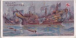 Celebrated Ships 1911 - Wills Cigarette Card - Celebrated Ships - 20 The Revenge, Francis Drake - Wills