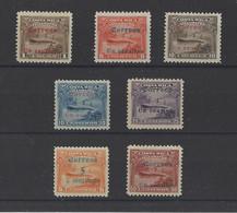 COSTA RICA.  YT    N° 80/86   Neuf */sans Gomme  1911 - Costa Rica